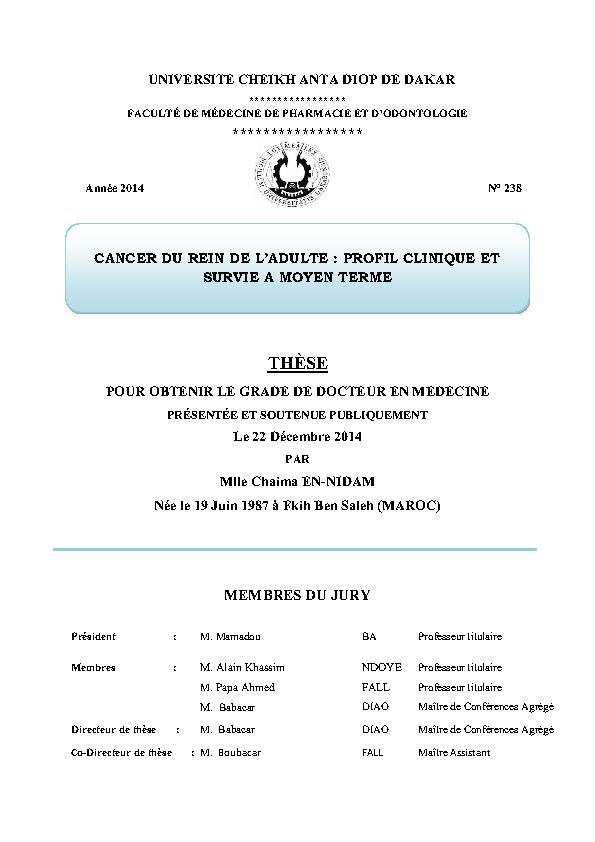 resultats 41 - 50 pour la recherche: Cancer du larynx